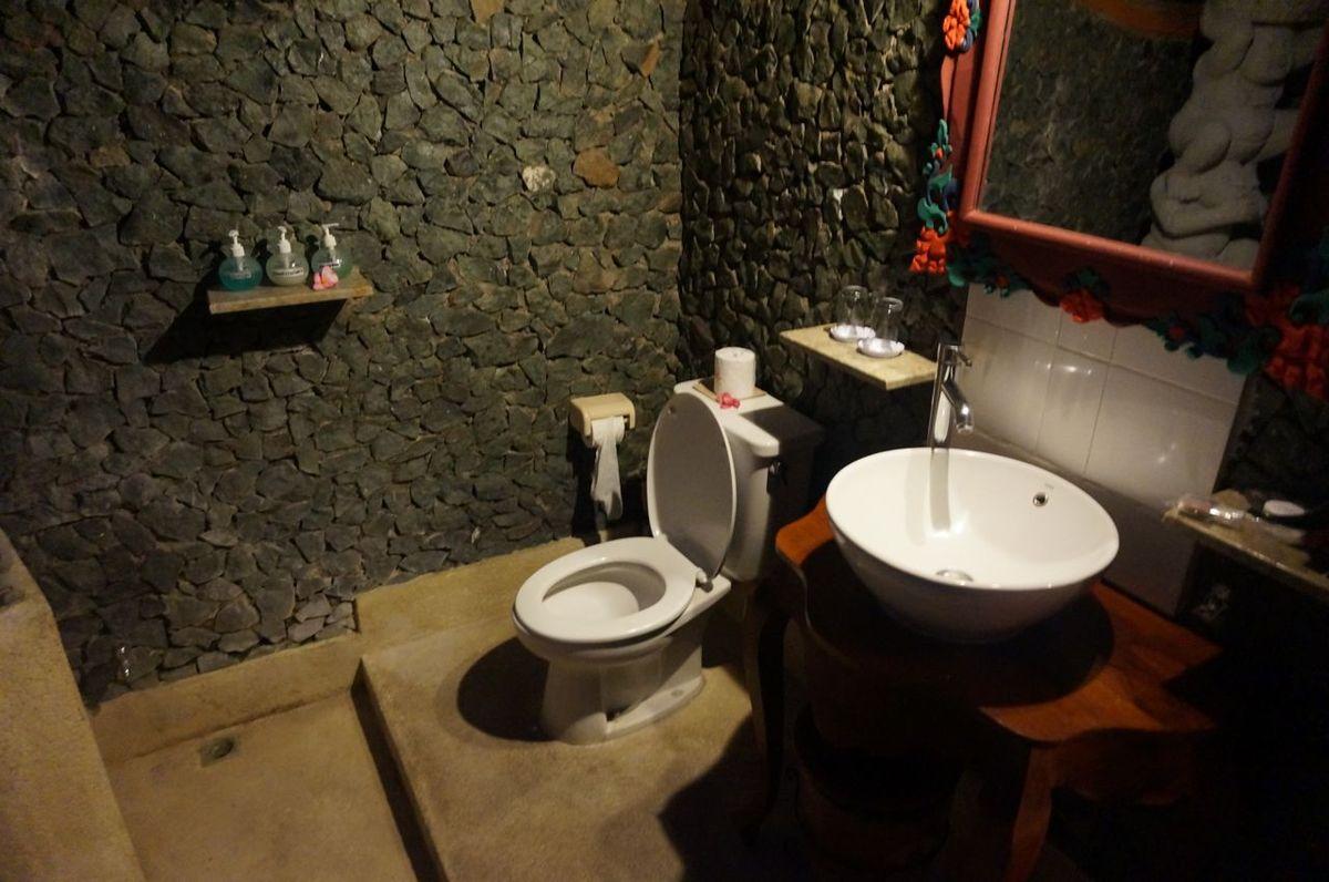 Notre salle de bain éxtérieure