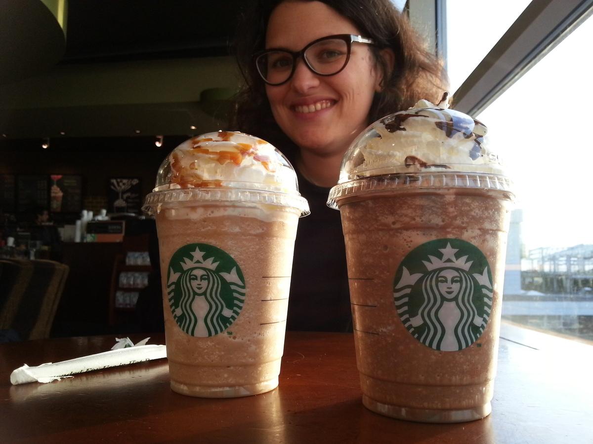 Frappucino chez Starbucks