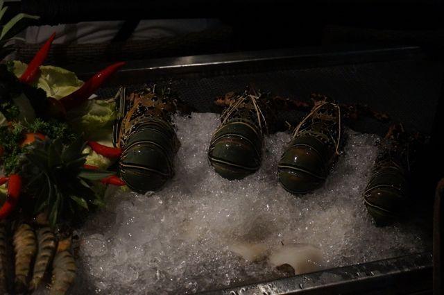 ...et des fruits de mers frais, enfin !