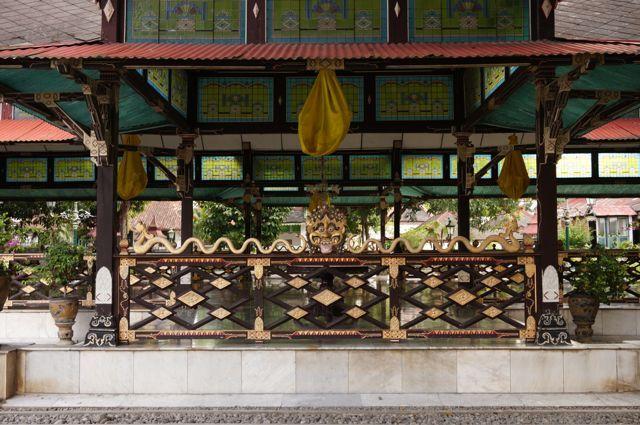 L'entrée du palais