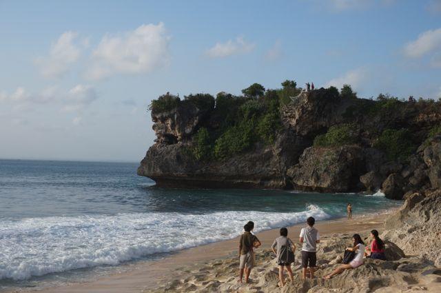 Petite plage sympa Balangan