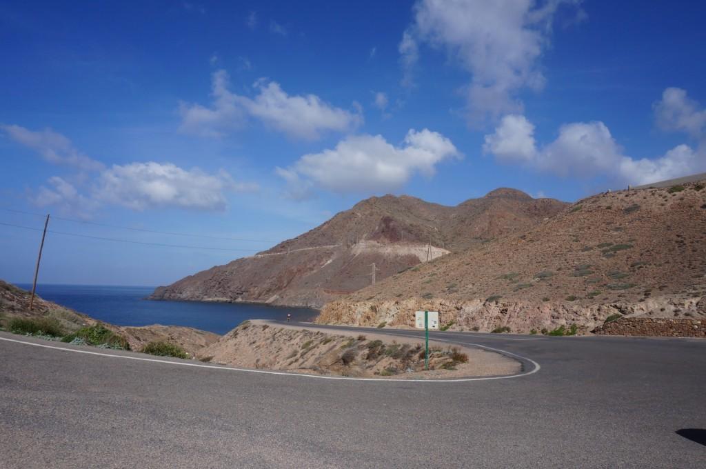 Cabo De Gata - Des routes sinueuses et étroites