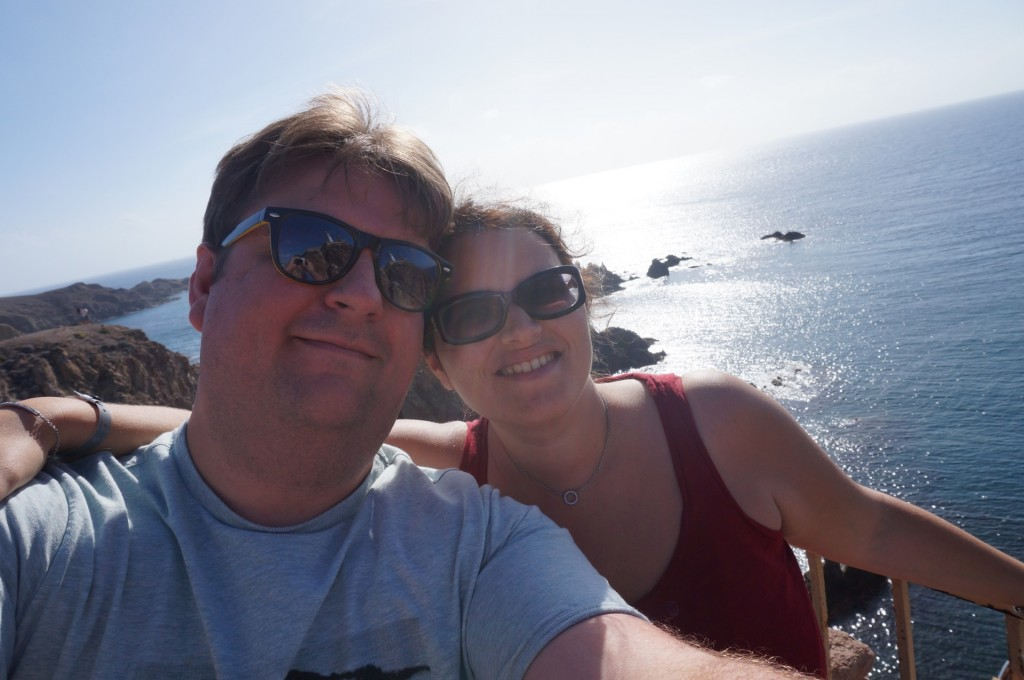 Cabo De Gata - Encore un Selfie en amoureux