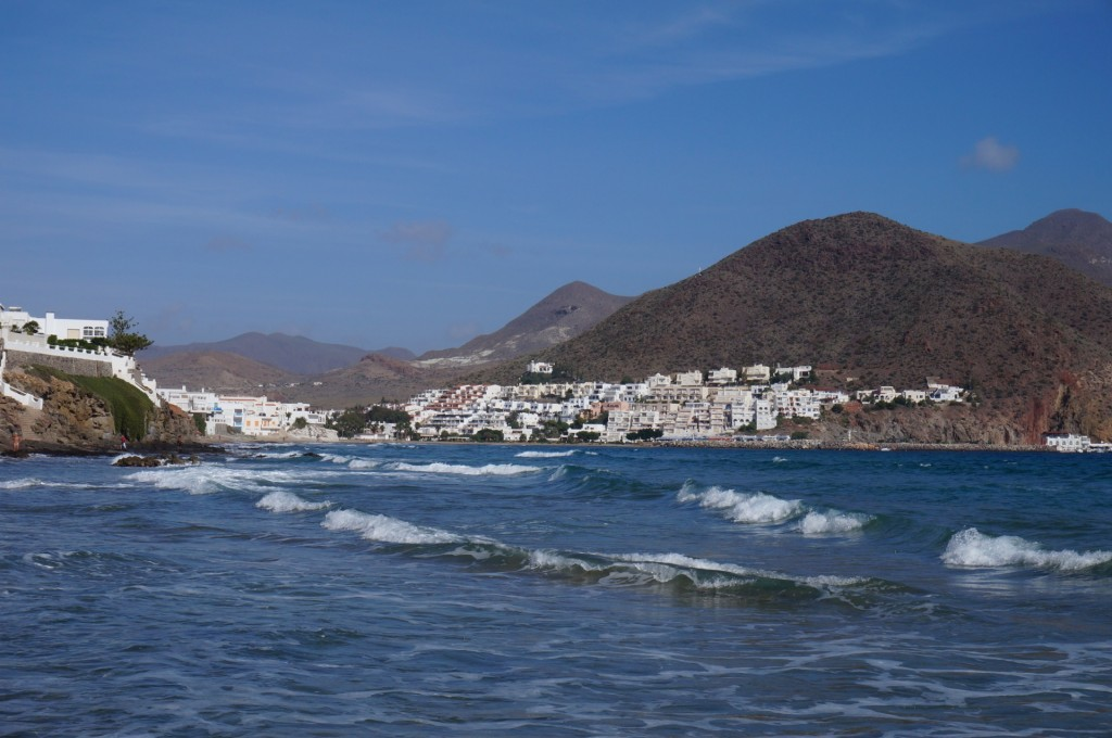 Cabo De Gata - Une vue sur le village de San José