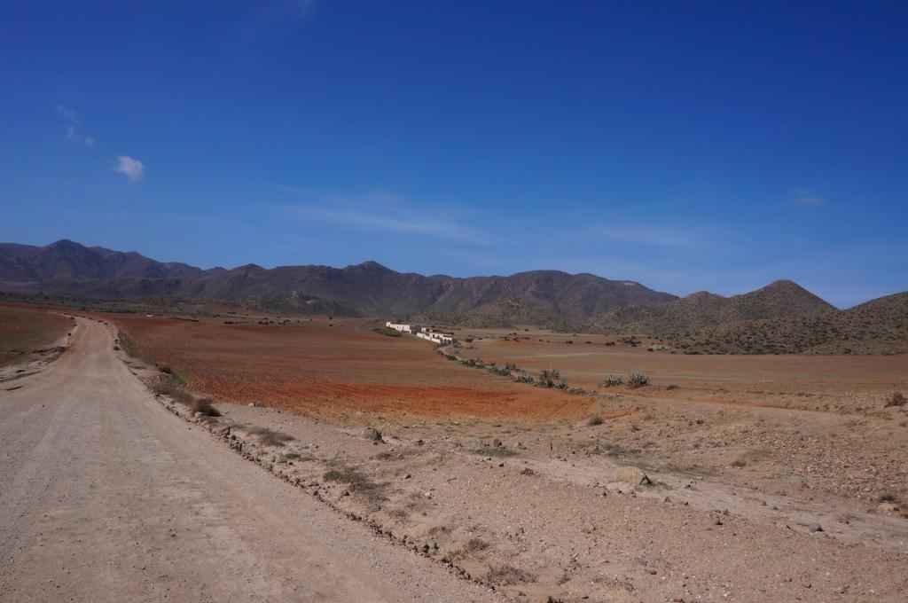 Cabo De Gata - Les couleurs ocres de ce désert de roches sont magnfiques