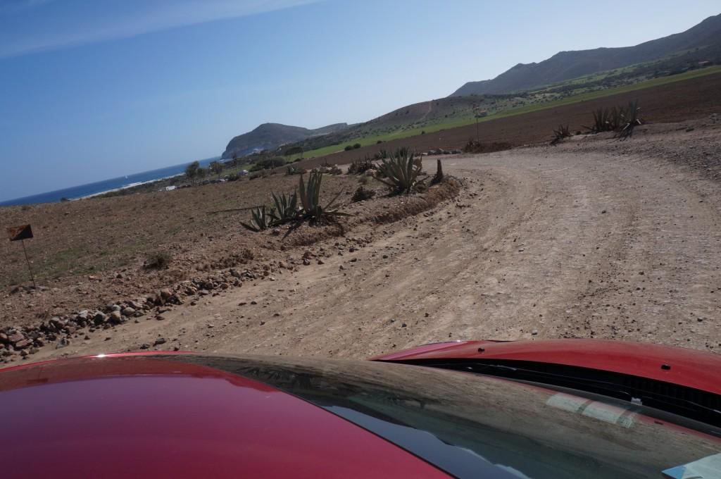 Cabo De Gata - mais les paysages ne cessent de nous impressionner