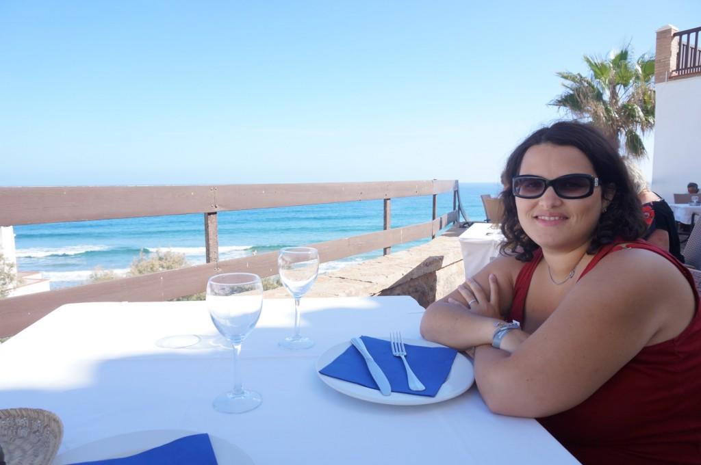 Cabo De Gata - Resto chic avec entrecote et calamar avec vue sur mer