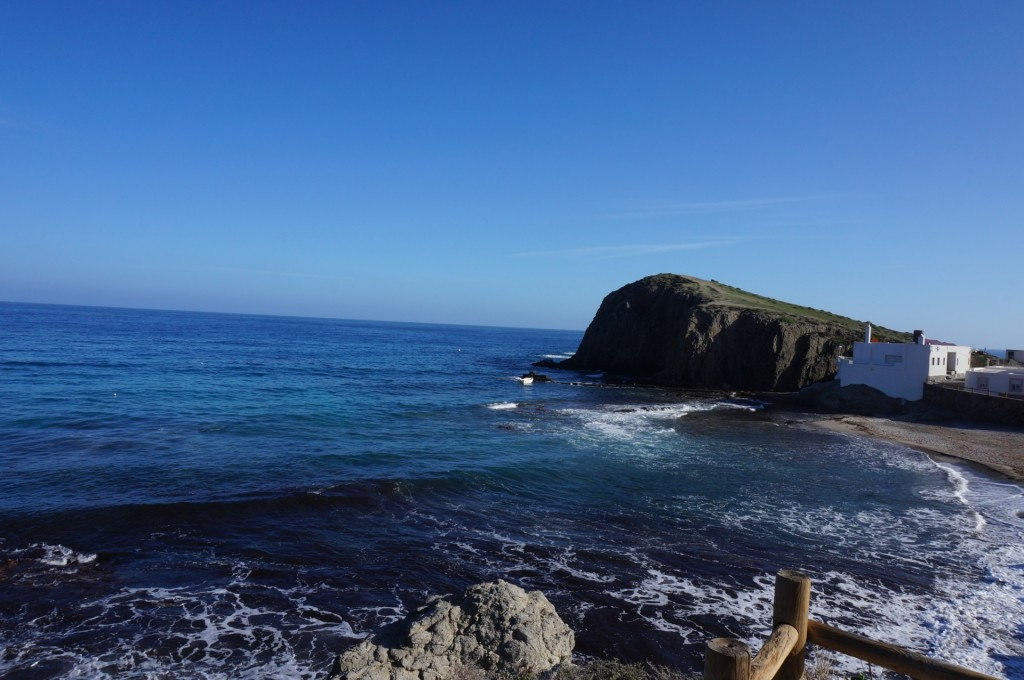 Cabo De Gata - Un front de mer sympa depuis notre térasse