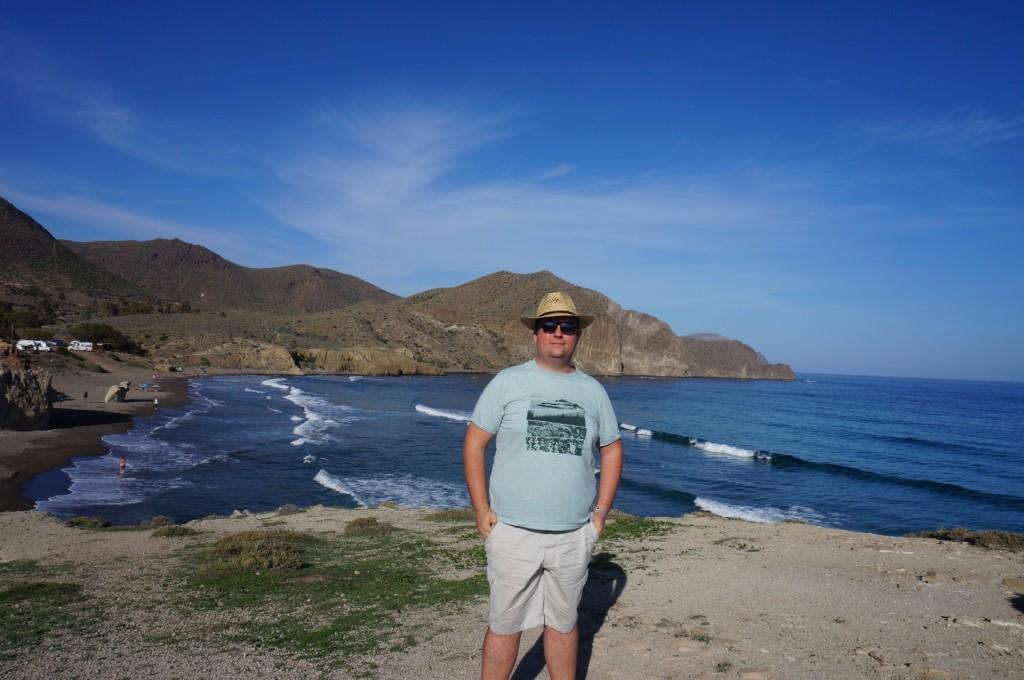 Cabo De Gata - 30 degrés en plein mois d'octobre, on a pris de bonnes couleurs